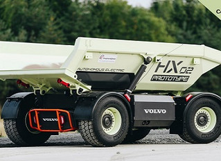 Volvo wdraża prototypy elektrycznych pojazdów górniczych
