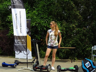 Strefa elektromobilności na dniach gminy Suchy Las