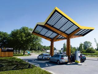 Fastned postawił kolejną stację szybkiego ładowania samochodów elektrycznych o mocy 350 KW