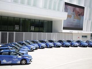 Flota 100 taksówek z napędem wodorowym