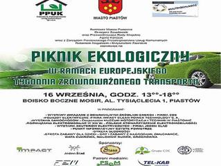 Piknik ekologiczny w Piastowie