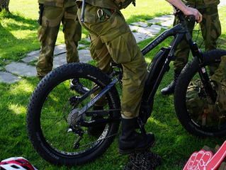 Rowery elektryczne będą wspierać patrolowanie granic Norwegii