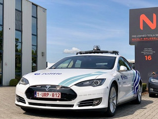 Tesla w belgijskiej policji