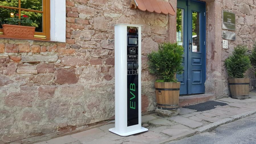 Źródło: http://www.prebiel.pl/evb-stacja-ladowania-pojazdow-elektrycznych/