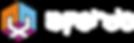 Logotipo A Fenda Horizontal Fonte Branca