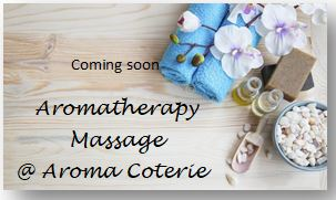 coming soon - massage