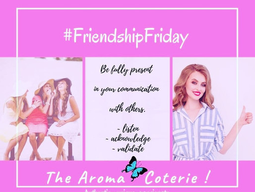 Friendship Friday - August 2020
