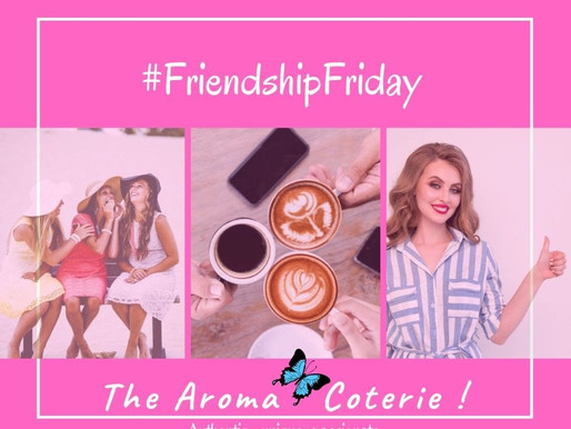 Friendship Friday - let's meet in person!
