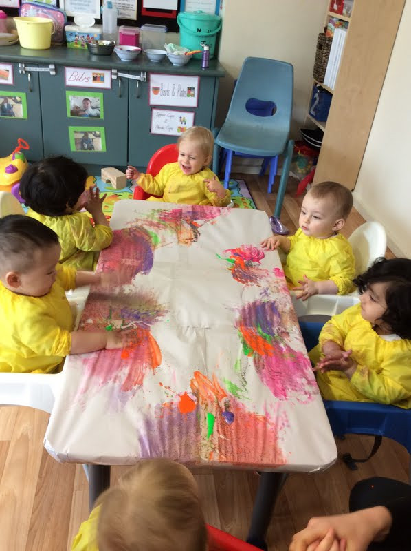 Group art activity