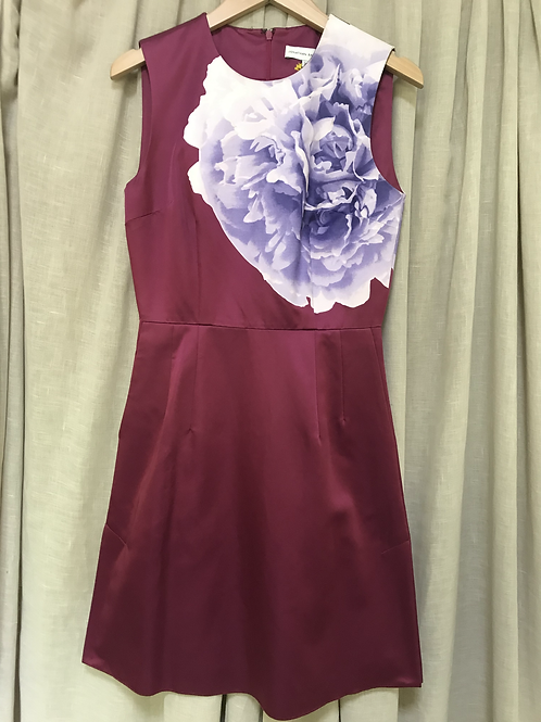 Jonathan Saunders Floral Sleeveless Dress (Size XS)