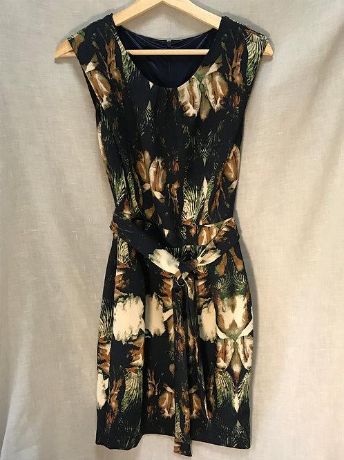 Tokyo Flower Patterned Dress (Size XS)
