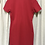 Thumbnail: Reformation Red Lace-Up Dress (Size M)