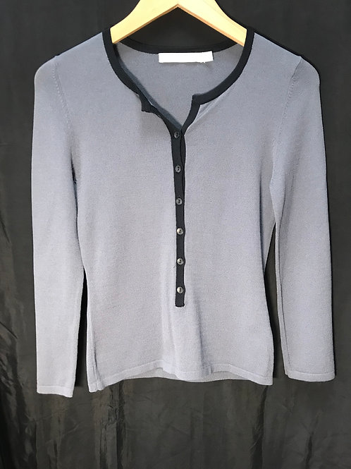 G2000 Grey Knitted Top (Size XS)
