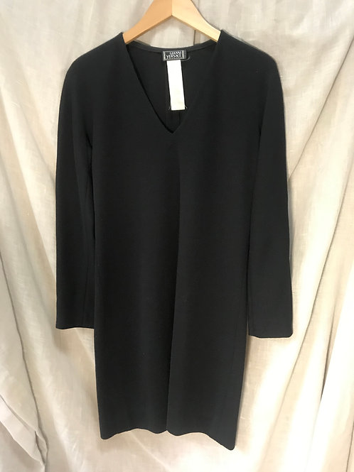 Gianni Versace Wool Shift Dress (Size S)