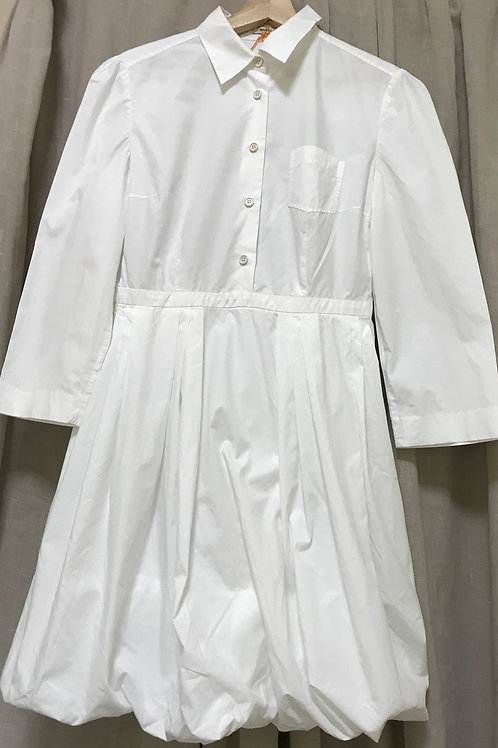 Miu Miu White Shirt Dress (Size L)