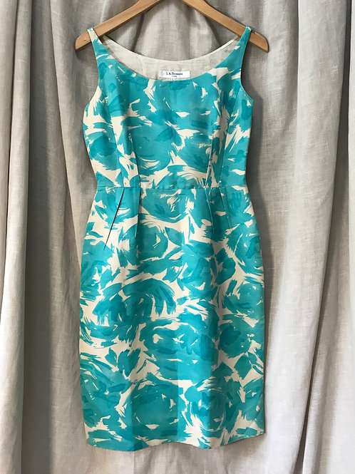 L.K. Bennett Patterned Dress (Size XXS)