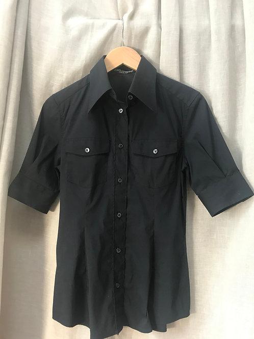 Dolce & Gabbana Black Shirt (Size M)