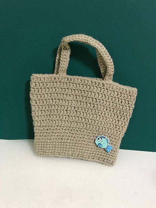 Crocheted Mini Handbag
