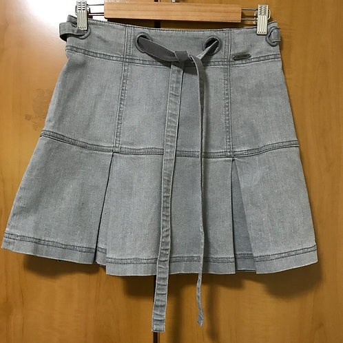 Emporio Armani Grey Denim Skirt (Size M)
