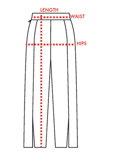 Pants Measurements