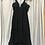 Thumbnail: Carven Black Strappy Dress (Size XXS)