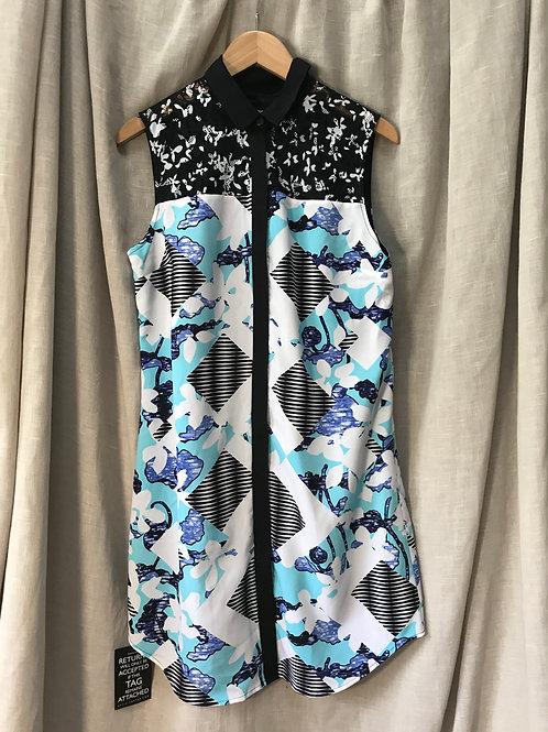 Peter Pilotto Printed Dress (Size S)