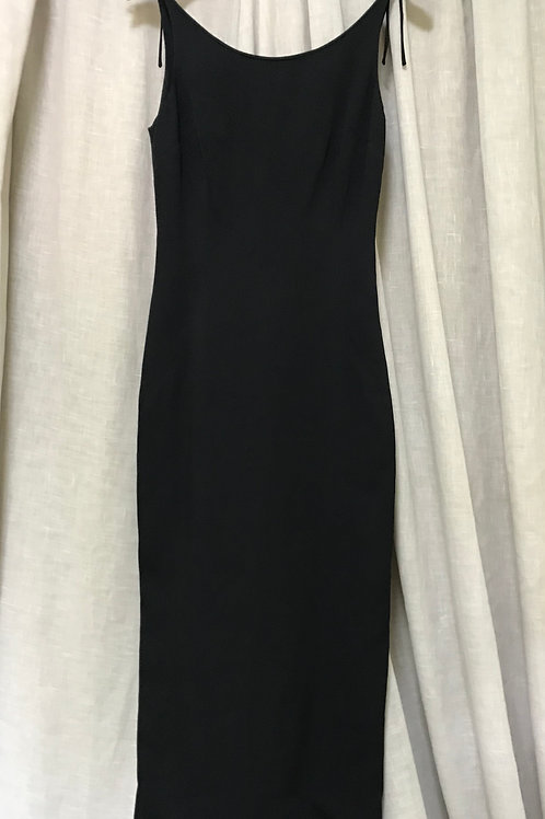 Dolce & Gabbana Black Fitted Dress (Size XS)