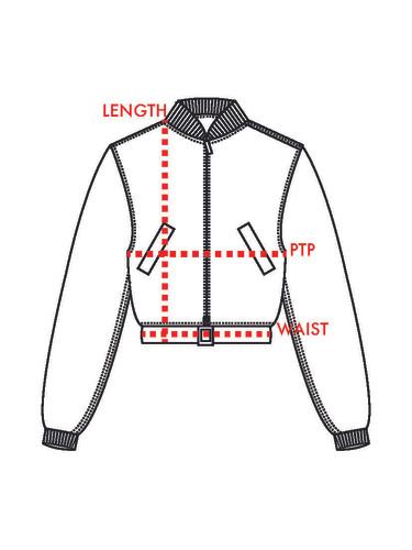 Outerwear/Tops Measurements