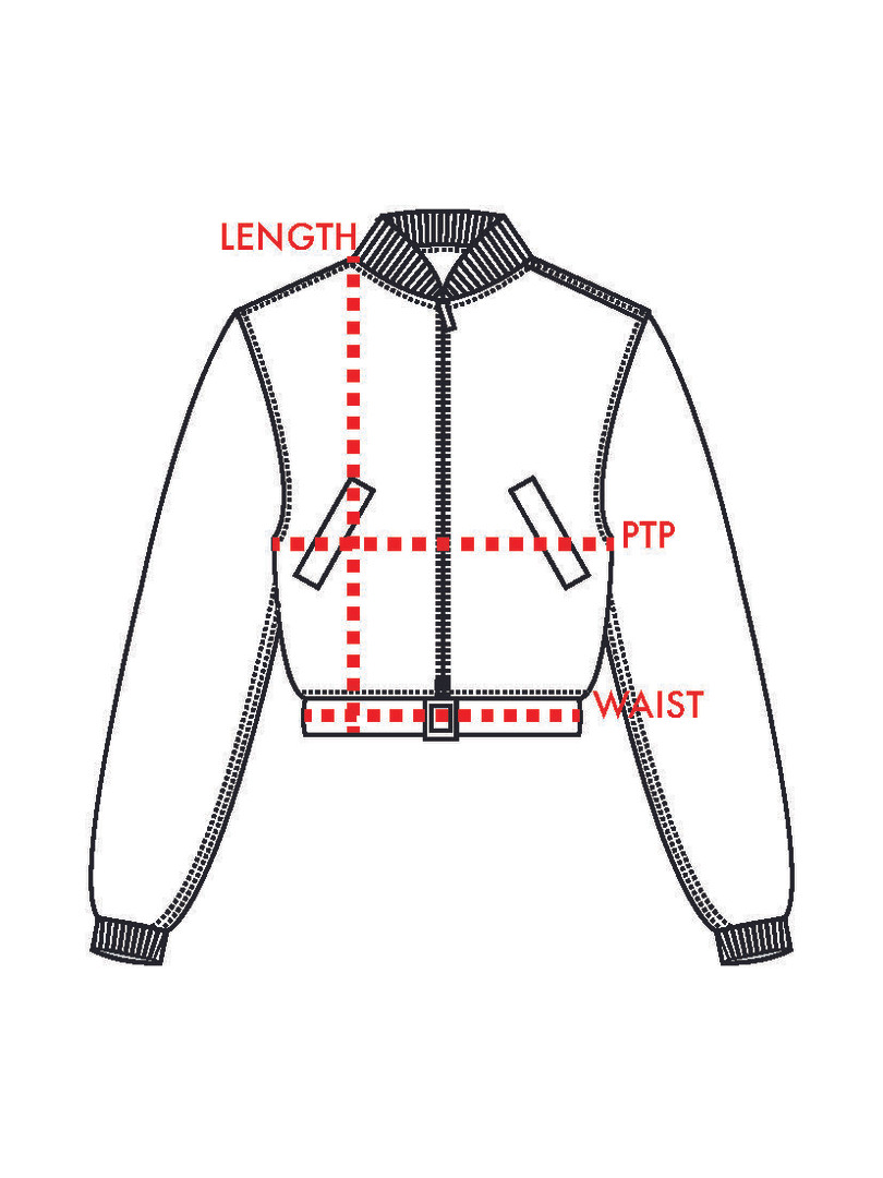 Outerwear/Tops Measurements