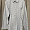 Thumbnail: Calvin Klein Grey Checkered Long Sleeve Shirt (Size Men's M)