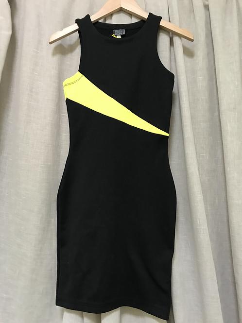 Versus Gianni Versace Colourblock Dress (Size XS)
