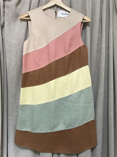 Valentino Multi-Colour Sleeveless Dress (Size XS)