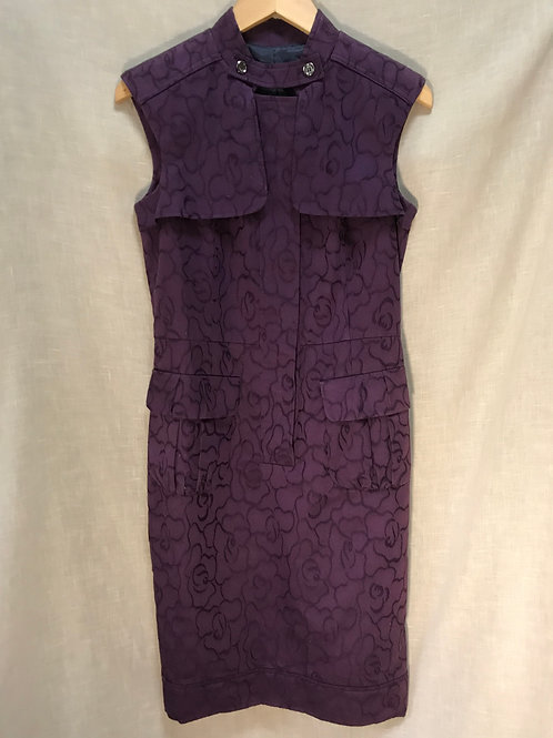 Purple Structured Dress (Size XS)