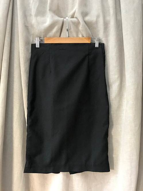 Zara Black Pencil Skirt (Size S)