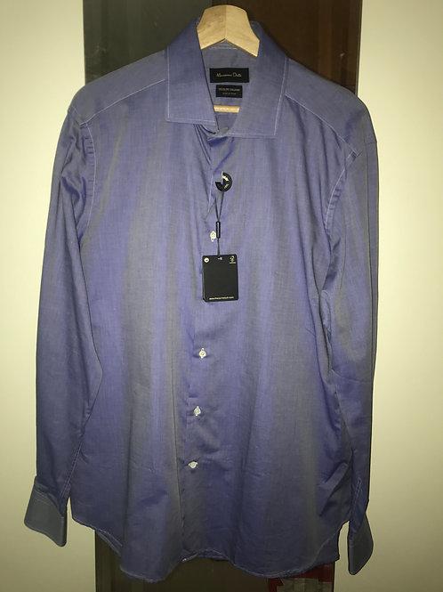 Massimo Dutti Blue Shirt (Men's Size XL)
