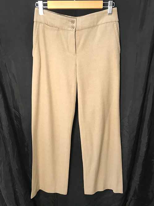 Liz Claiborne Brown Textured Pants (Size XS)