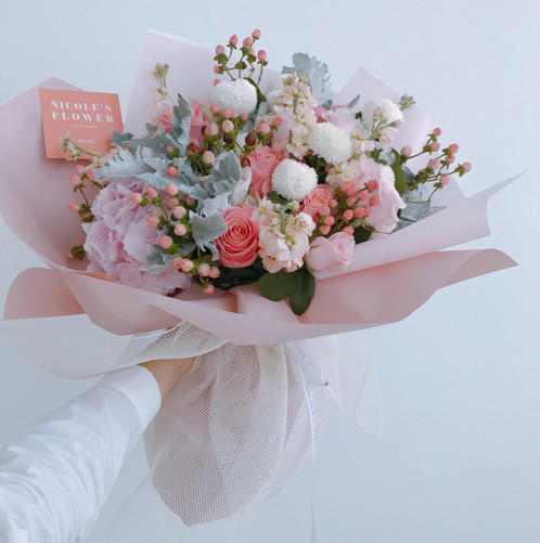 Pretty in pink nicoles flower pretty in pink mightylinksfo