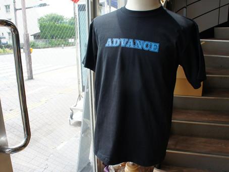ADVANCE様 オリジナルTシャツ♪