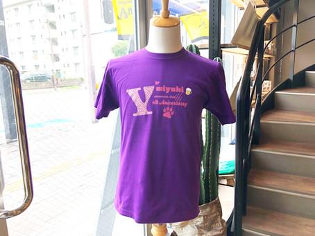 ズンバサークル1周年記念Tシャツ♪