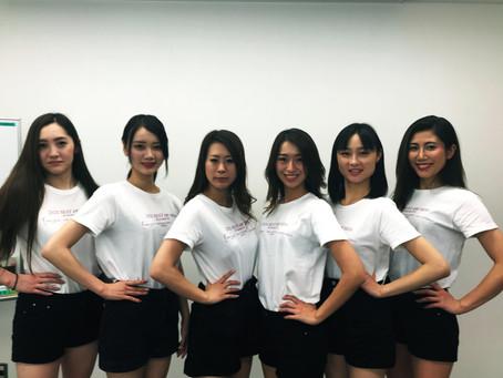 ベスト・オブ・ミス熊本大会様のオリジナルTシャツ♪