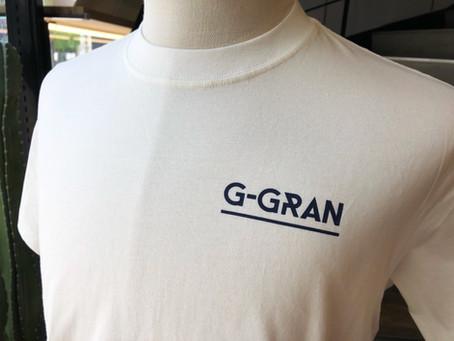 G-GRAN様、スタッフさま用オリジナルTシャツ♪