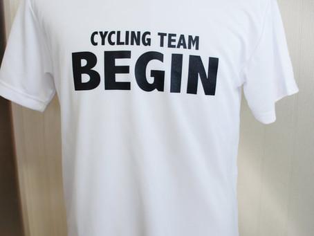 CYCLING TEAM BEGINさまのサイクリングTシャツ♪