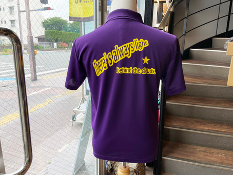 K中学校さま 先生方のオリジナルポロシャツ♪