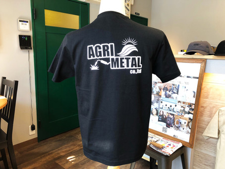 アグリメタルさま、オリジナルTシャツ♪