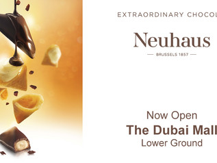Neuhaus: Dubai Mall Store is open | Receive your discount by showing your membership card
