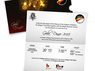 YOU ARE INVITED TO OUR GALA DINNER