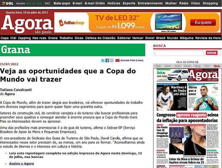 Sindicato Estadual dos Guias de Turismo de São Paulo