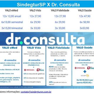 Dr. Consulta - Somente consultas sem internação.