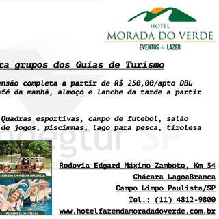 Serviços Hotel Morada do Verde