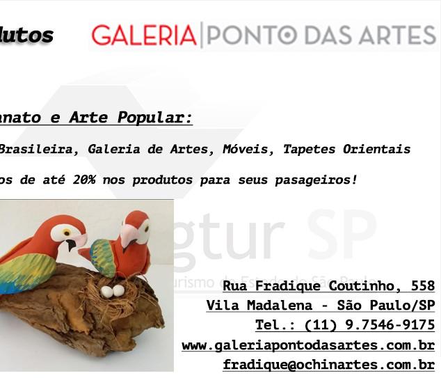 Produtos Galeria Ponto das Artes
